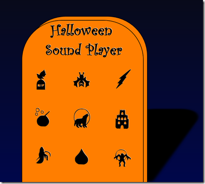 Halloween Sound Player